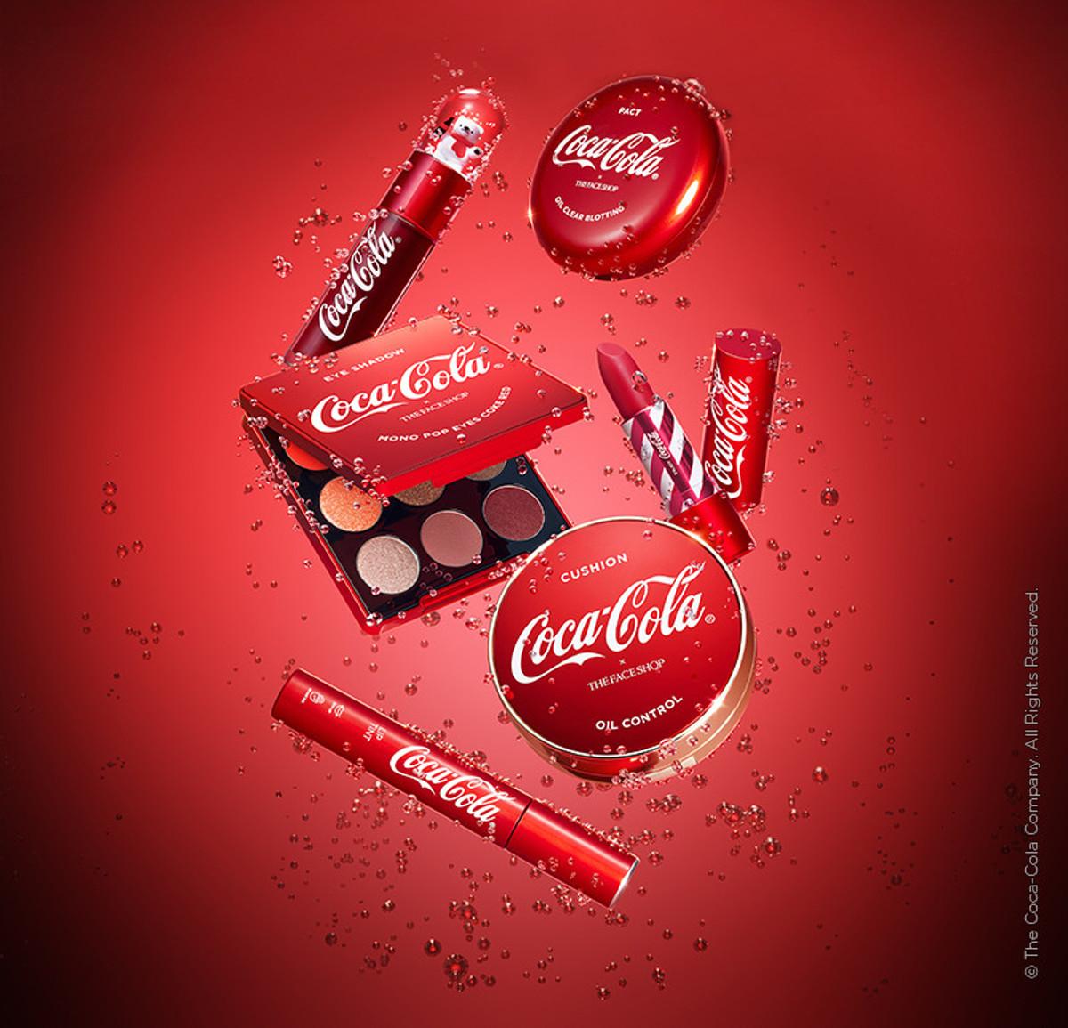 coca cola the face shop