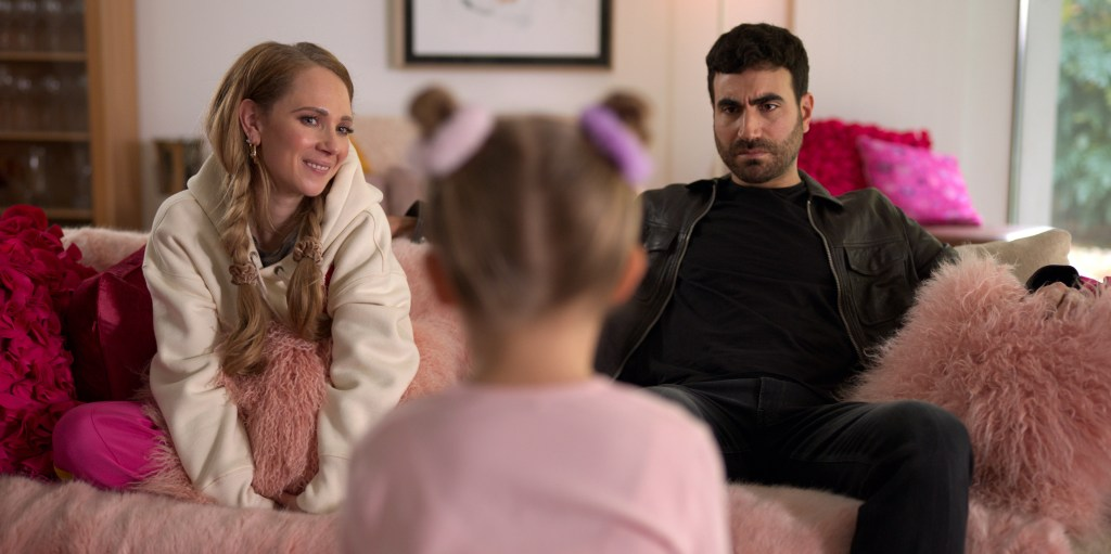 """Juno Temple and Brett Goldstein in """"Ted Lasso,"""" """"All Apologies"""" now streaming on Apple TV+."""