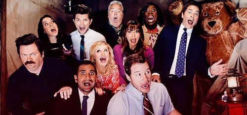 Key art for Parks and Recreation's Pawnee Parks Department