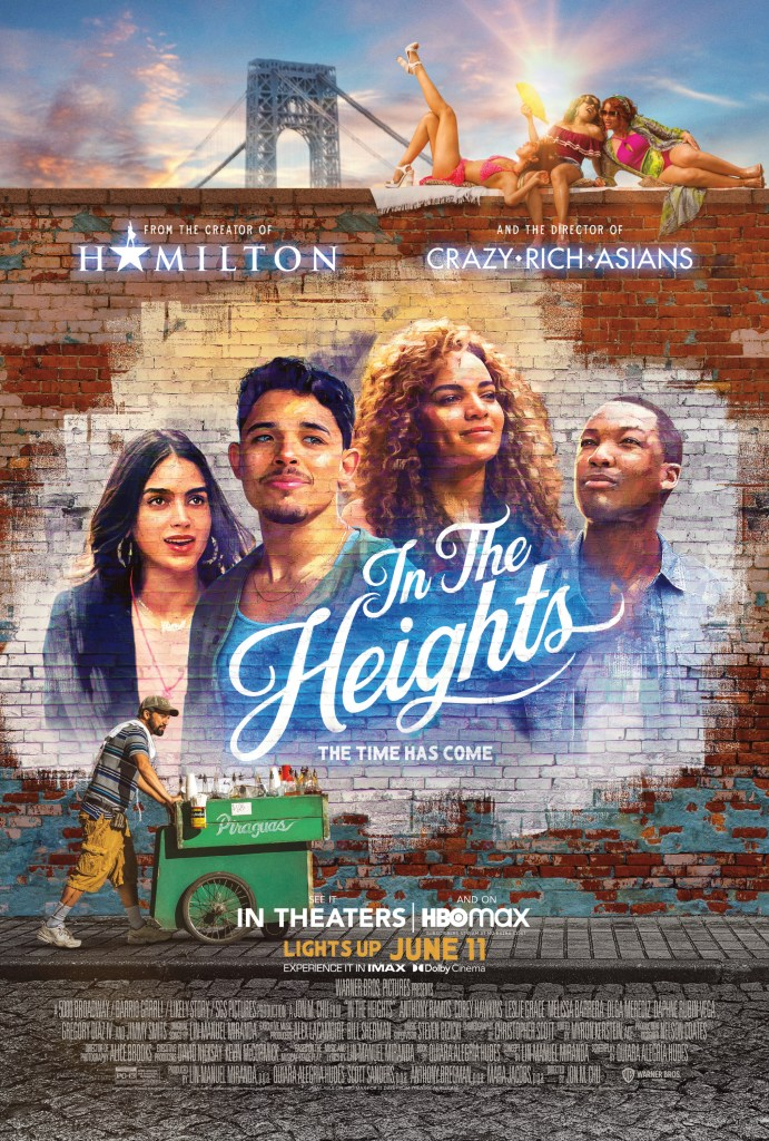 In the Heights official movie poster.
