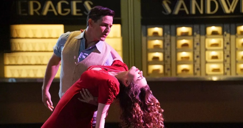 Peggy Carter and Daniel Sousa dancing in Agent Carter's 2x09
