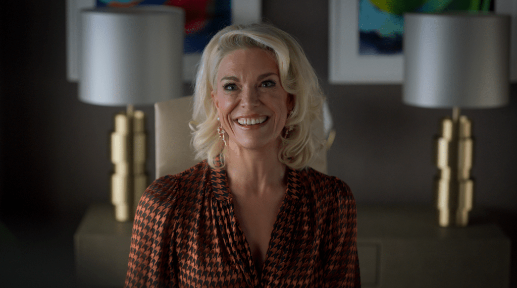 """Hannah Waddingham in """"Ted Lasso"""" season two, now streaming on Apple TV+. Episode: """"Lavender"""""""