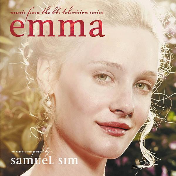 BBC Emma original score cover art by Samuel Sim