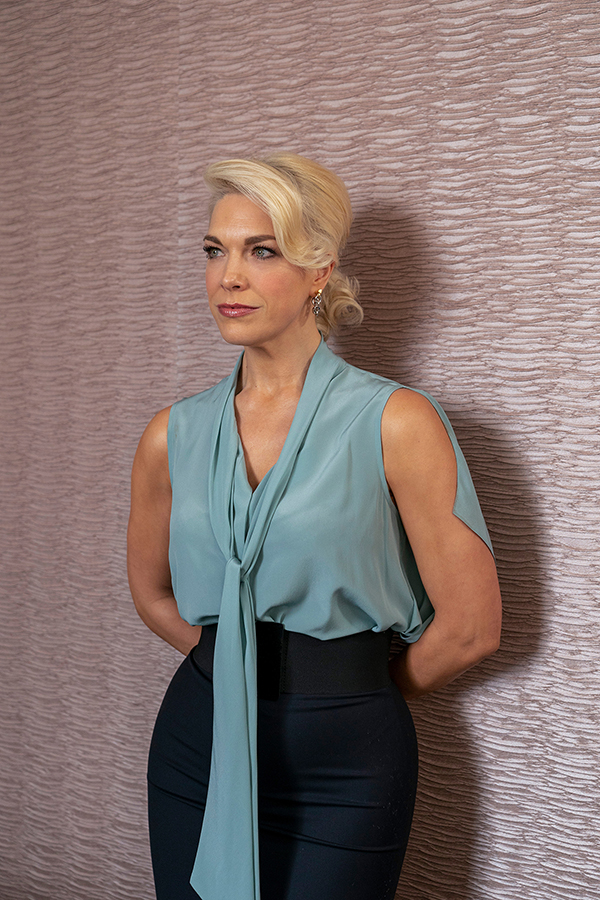 """Hannah Waddingham in """"Ted Lasso"""" season two, """"The Signal"""" now streaming on Apple TV+"""