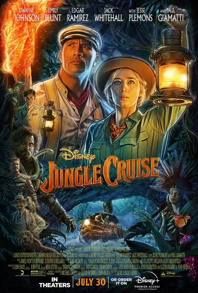 Jungle Cruise key art poster courtesy of Disney