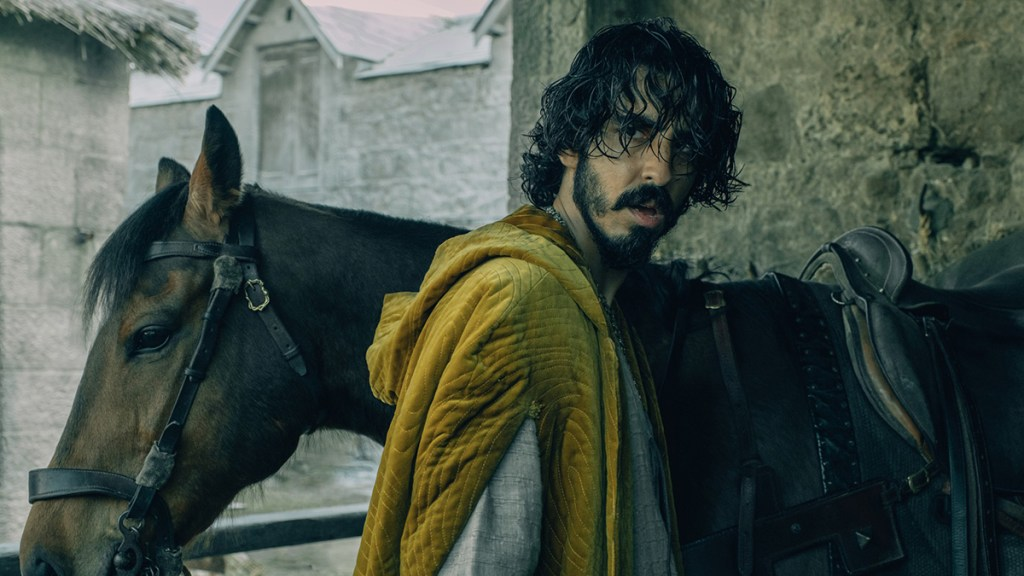 Dev Patel in A24's The Green Knight