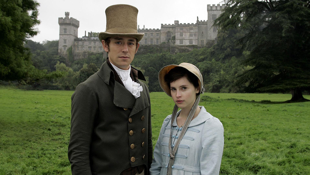 Henry Tilney and Catherine Morland in Northanger Abbey.