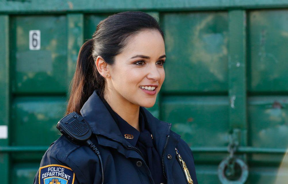 Melissa Fumero as Amy Santiago in NBC's Brrooklyn Nine-Nine.