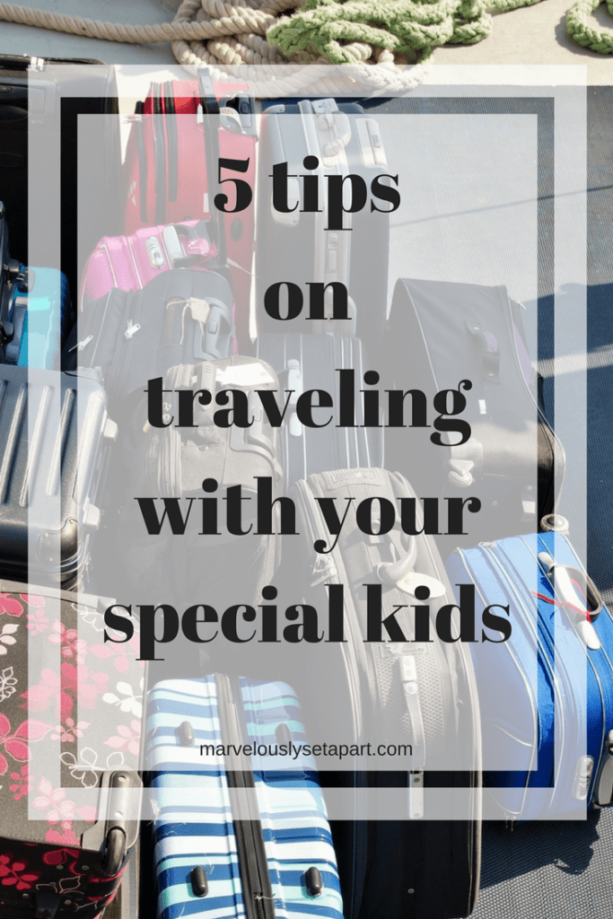 5 tips on traveling with your kids