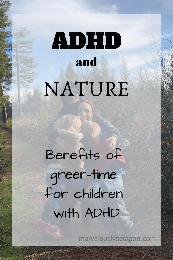 adhd and nature