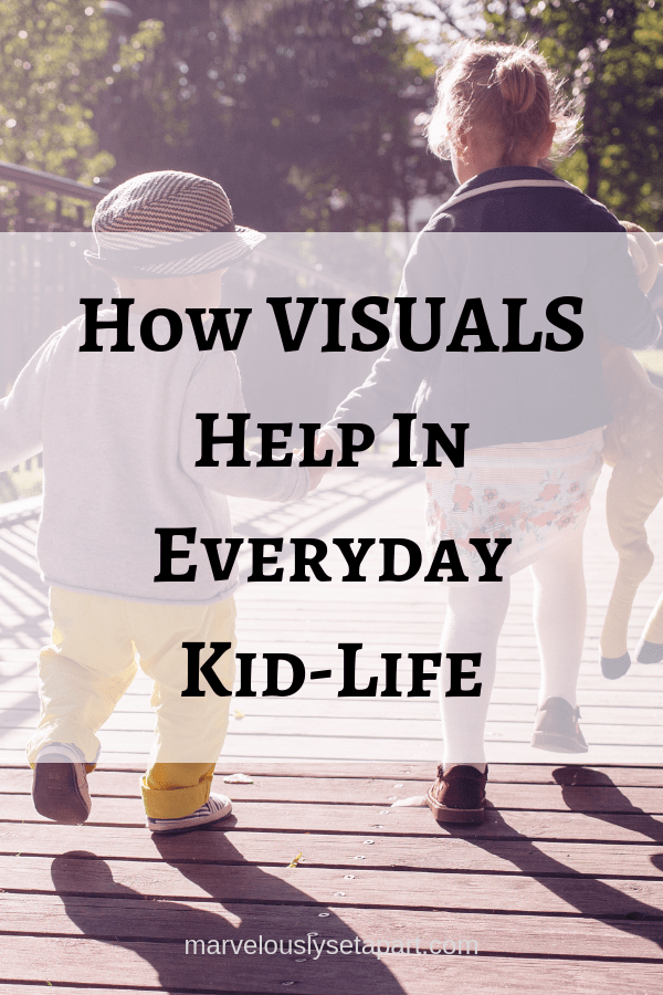 Visuals helping autistic kids