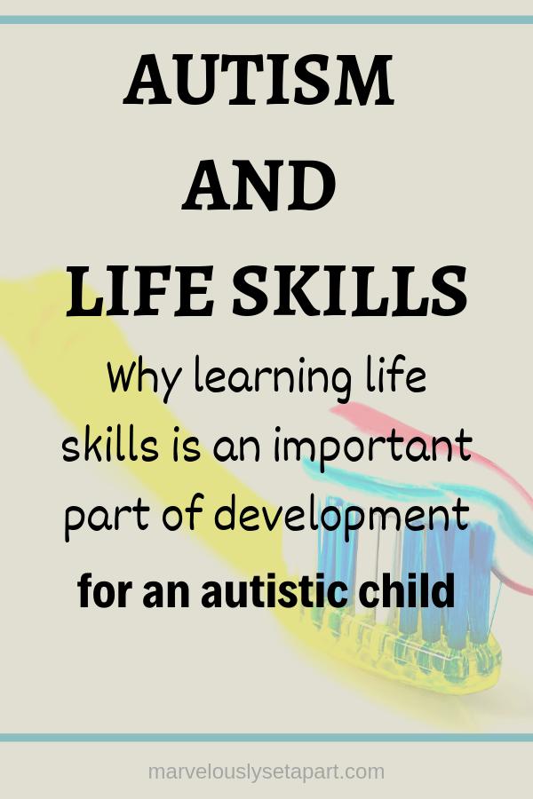 autism, life skills
