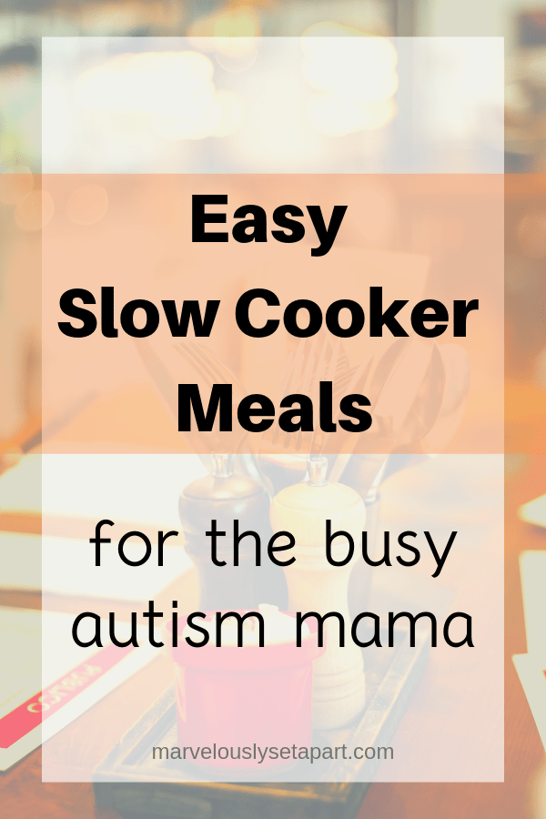 slow cooker meals for autism moms