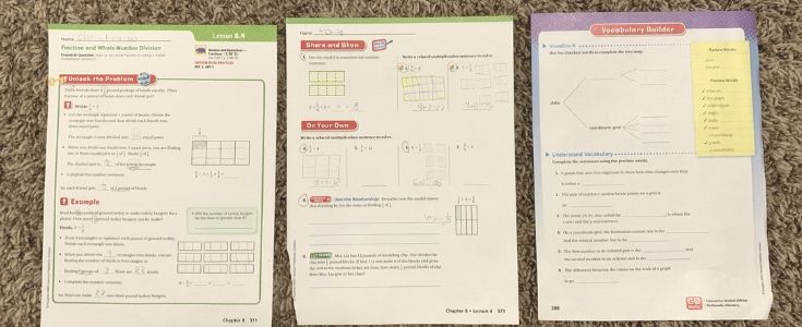 go math curriculum review
