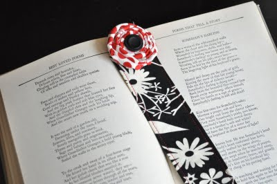 fabric bookmark 2