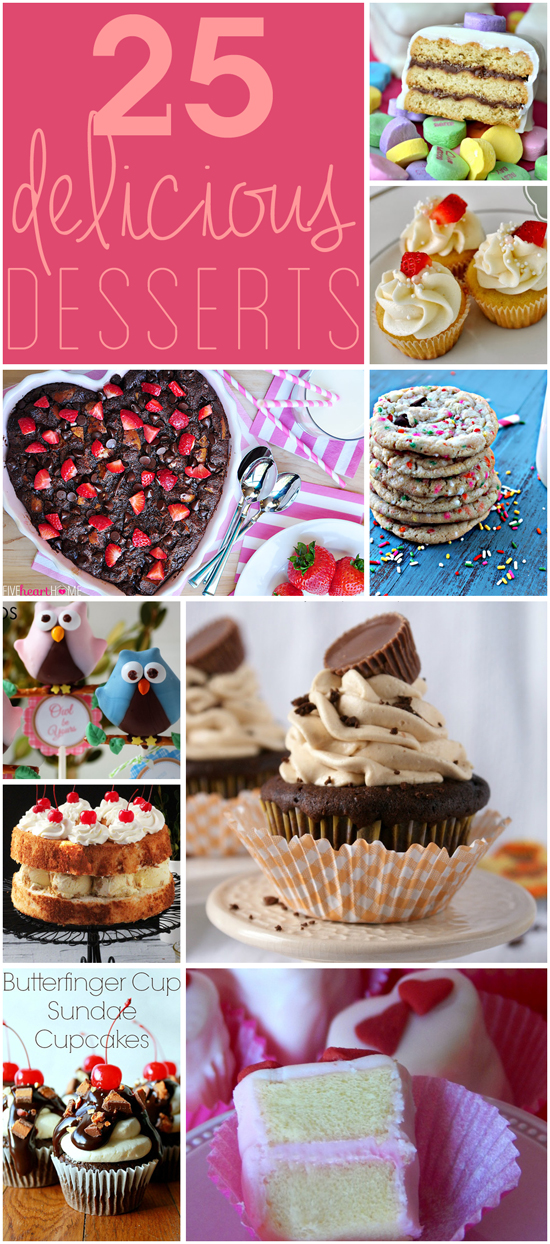 25 Delicious Desserts