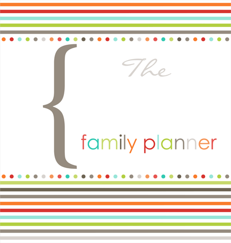 getting organized family planner binder free printables