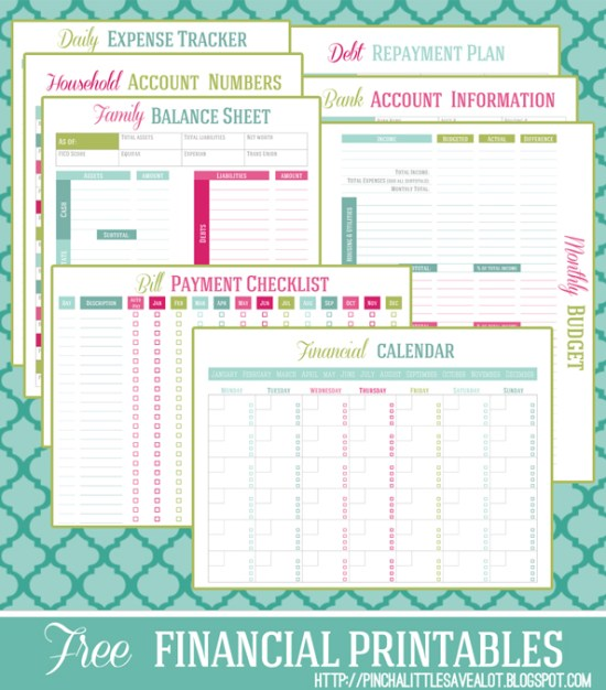 Family Planner Binder {Free Printables