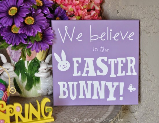 Easter Sign craft