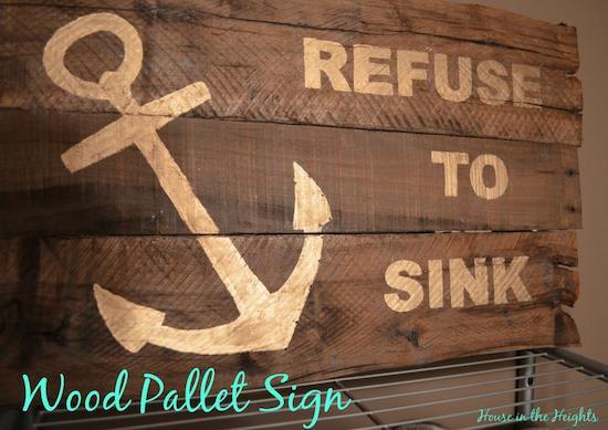 Wood Pallet Sign