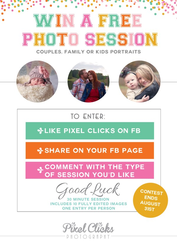 Win a Free Photography Session
