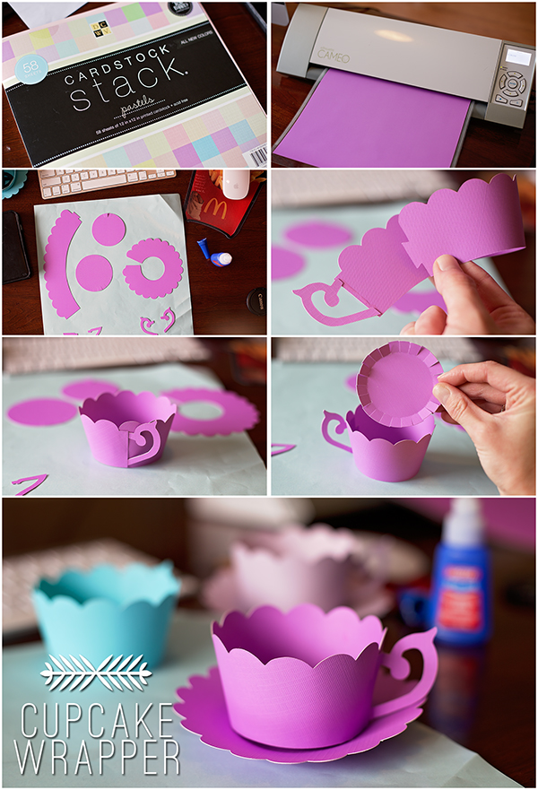 Tea Party Birthday Tea Cup Cupcake Wrapper Freebie Marvelous Mommy