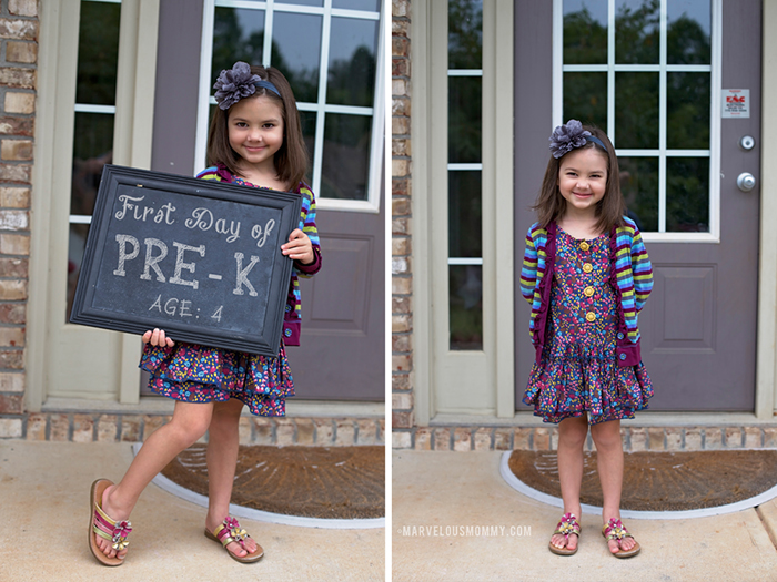 Natalie_First Day of School