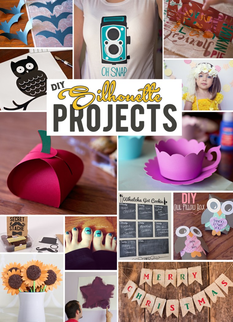 DIY Silhouette Projects