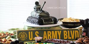 Army Take Cake