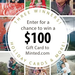 Mined Holiday Card Giveaway