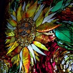 Sunflower GOG by Kory Dollar of Marvelous Mosaic Fine Art