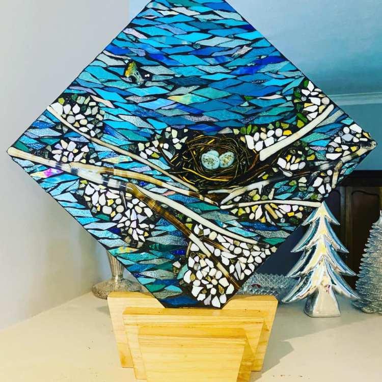Janes Glass on Glass Mosaic