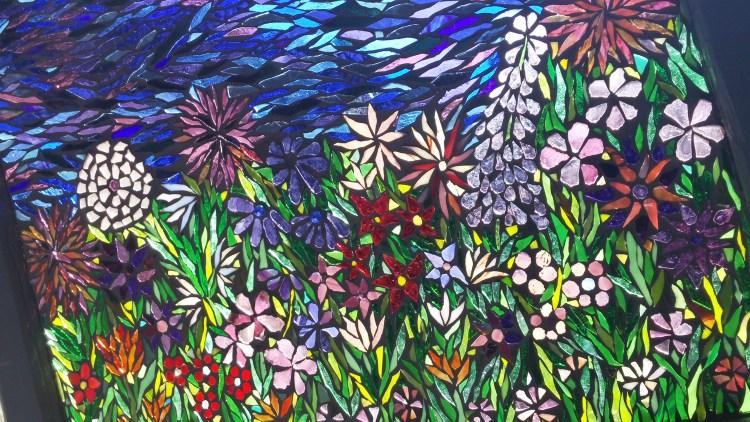 Kory Dollar Flower Garden Mosaic Workshop