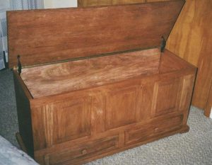Custom Hope Chest by Doug Marvel, Marvelous Woodworking