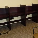 Custom Library Cubicles by Doug Marvel, Marvelous Woodworking