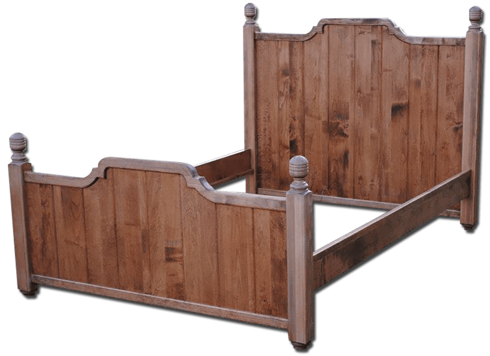 Custom woodworking bed frame by Doug Marvel, Marvelous Woodworking