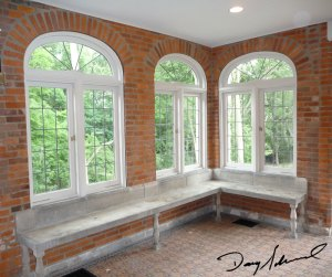 Window arches at Parry Mansion | Historic homes