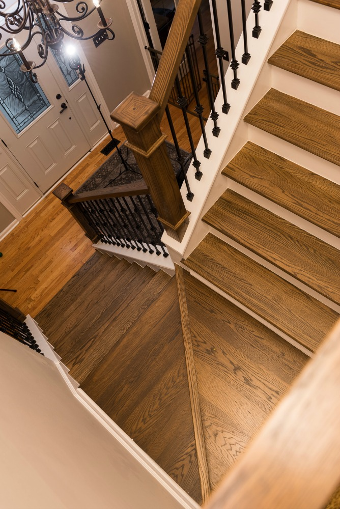 Treads Sideways Remodeling A Staircase