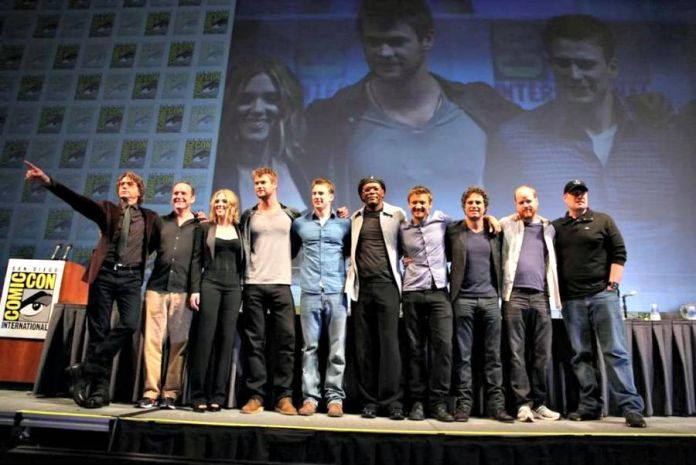 Image result for hall h marvel panel