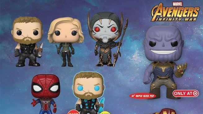 FUNKO POP MARVEL AVENGERS INFINITY WAR CULL OBSIDIAN EXCLUSIVE BRAND NEW