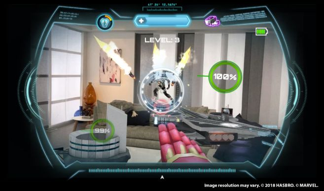HERO VISION IRON MAN AR EXPERIENCE - In-App (2)