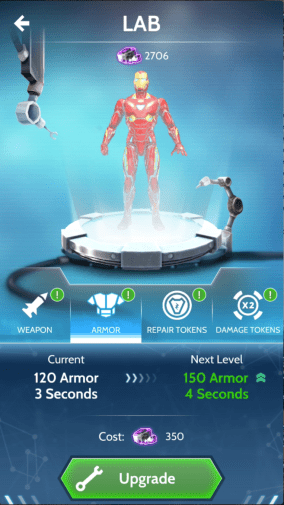 HERO VISION IRON MAN AR EXPERIENCE - In-App Lab