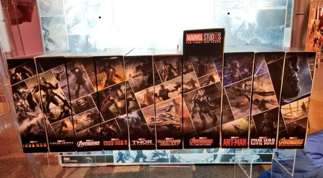 Hasbro Marvel Studios First 10 years 6