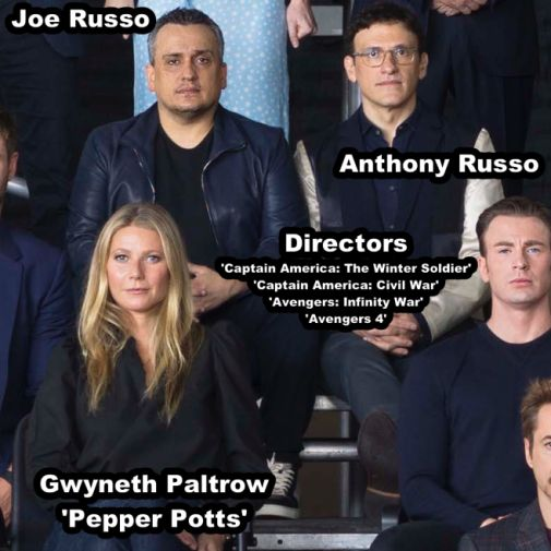Marvel Studios class photo 27