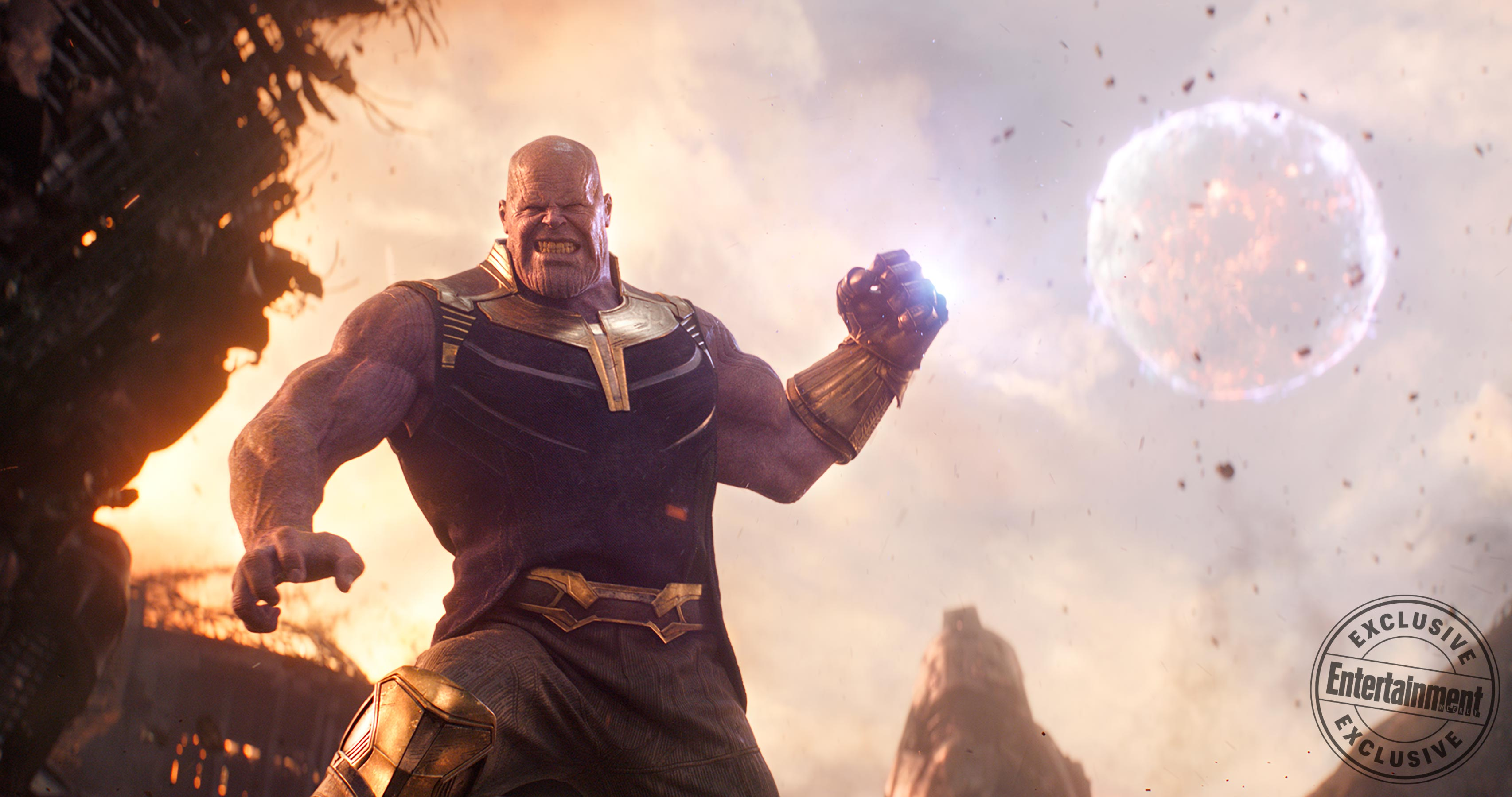 8 New Images From Avengers Infinity War Include Thanos Throwing A