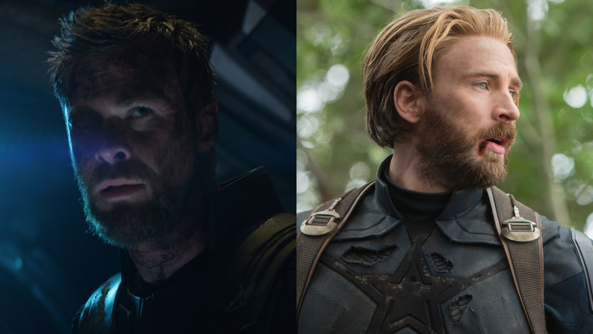 thor and captain america have more in common than their beards in