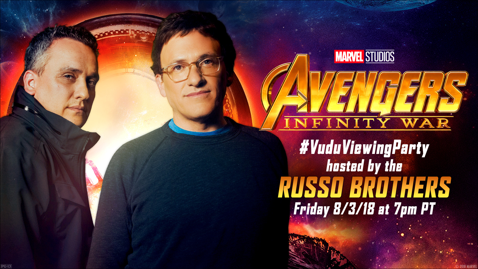 The Russo Brothers to host 'Avengers: Infinity War' Vudu