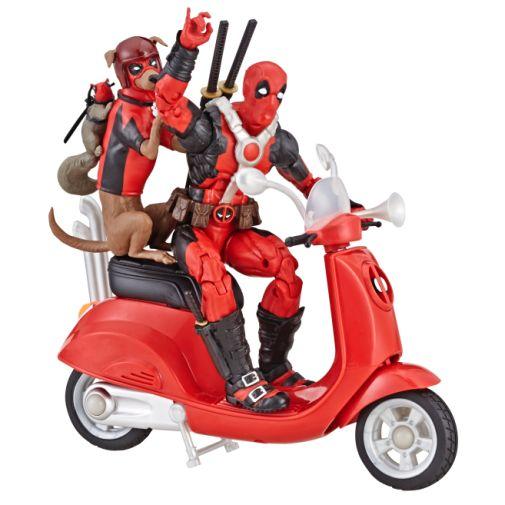 MARVEL LEGENDS SERIES 6-INCH Vehicles Assortment Wave 1 (Deadpool with Scooter) - oop 1