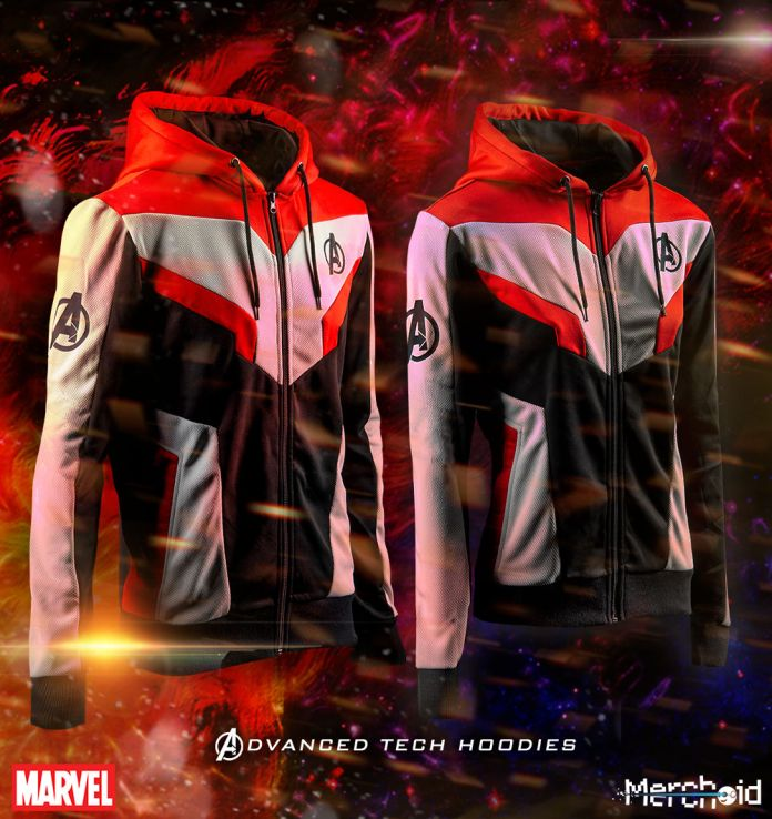 avengers advanced tech hoodies will have you geared up