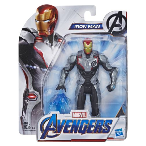 MARVEL AVENGERS ENDGAME IRON MAN 6 INCH FIGURE in pck